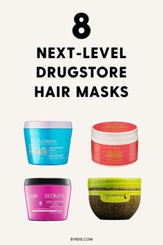 These Drugstore Hair Masks Revive Damaged Hair for $5 and Up