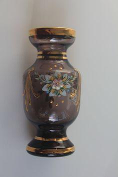 Luxury Bohemian Crystal Glass Miniature by ShoppeAroundTheWorld, $39.00 Visit my Etsy shop!