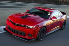 2015 Chevrolet Camaro ZL1 Coupe | Front-quarter view. Copyright General Motors