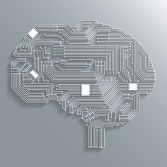 Buy Circuit Board Brain by macrovector on GraphicRiver. Electronic computer circuit board brain shape background or emblem isolated vector illustration. Editable EPS and Ren. Technology Posters, Drone Technology, Technology Design, Cool Technology, Computer Technology, Technology Vocabulary, Technology Apple, Technology Hacks, Teaching Technology