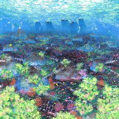 水の野 by Yoneda Eri