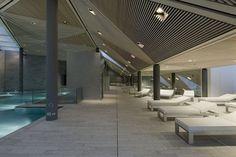 Wellness Center: Berg Oase, Arosa, Switzerland | Mario Botta Architetto