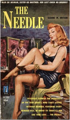 The Needle. #vintage #book #cover #pulpart #paperback #illustration
