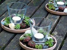 Für eine Gartenparty habe ich letzte Woche spontan einige Windlicher mit Hauswurzen gemacht. Sie sind schnell hergestellt und praktischerwe...