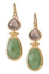 Amelia drop earrings. Stella & Dot, of course. www.stelladot.com/haileystyle