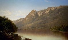 David Johnson - Eagle Cliff, Franconia Notch, New Hampshire, 1864, Oil on canvas, Amon Carter Museum, Fort Worth, Texas
