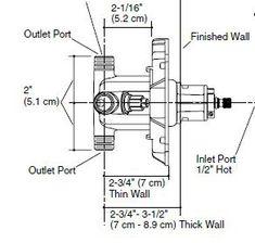 shower valve rough in plumbing diy home improvement diychatroom