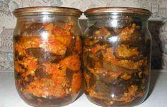 Рецепт маринованных баклажанов с чесноком на зиму | Вкусно готовим дома