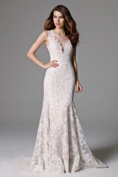Watters Ashland Gown - pretty vintage lace gown
