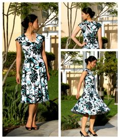 Cation Designs: R: Travel to Work Dress