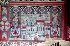 Живая традиция христианского искусства, Цикл фресок, 1335 год