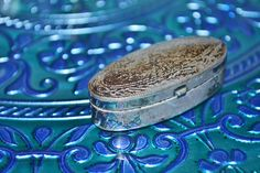 Italian Sterling silver meets a Turkish plate -- delish!  home-pop | paula dupont | interior decorating \ home staging \ color c