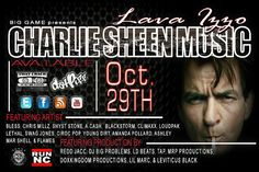 Charlie Sheen Music  10.29 — with Chriz Millz, Ashley Mar Shell, Ceez Murdah and 14 others.