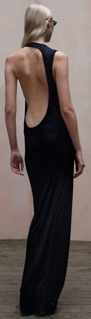 sleek black dress ♥✤   Keep the Glamour   BeStayBeautiful