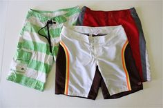 KID Swim Trunks – Tutorial and Refashion | MADE