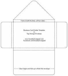 Over 75 Free Printable Envelope Templates | Creating Crafts ...