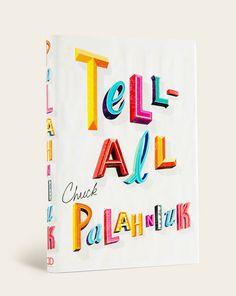 Chuck Palahniuk by Rodrigo Corral, via Behance