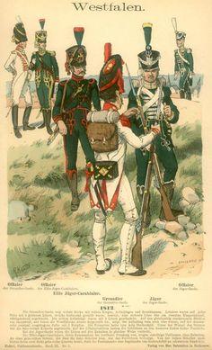 Westphalian infantry 1812