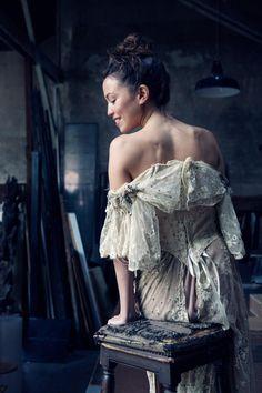 The Artist�s Muse(s) � A Private Portrait Shoot in Paris