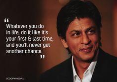 SRK says