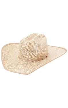 American Hat® Tri-Colored Shantung Cowboy Hat