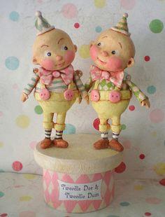 Tweedle Dee and Tweedle Dum! by thepolkadotpixie, via Flickr