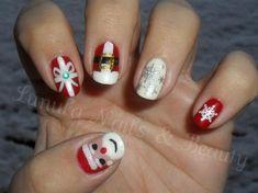 Christmas Mix Nails by mfraserx - Nail Art Gallery nailartgallery.nailsmag.com by Nails Magazine www.nailsmag.com #nailart