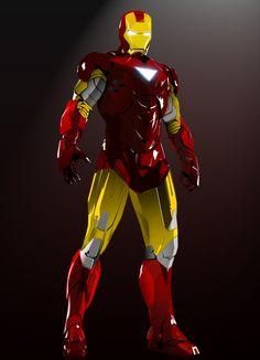 Iron Man 2  - Vector by Jason Strizich