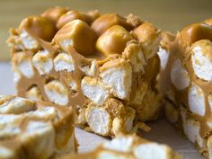 no-bake butterscotch peanut butter marshmallow bars