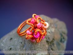 Rings: enameled copper wire