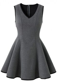 So freaking cute! Add a little jacket, heels and maybe some pearls and youll be set!