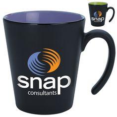 Promotional 13 oz. Two Tone Contrast Mug | Customized 13 oz. Two Tone Contrast Mug | Promotional Coffee Mugs