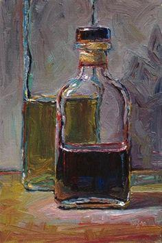 """Balsamic Vinegar"" - Original Fine Art for Sale - © Raymond Logan"