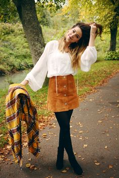 The Seventies has been a real dominating style factor this Autumn with it's button front a-line skirts, bell sleeved shirts, chunky boots, mustards, burgundies and lot's of suede (yes, I did just check I hadn't spelt that like swede - the vegetable, that's probably not been
