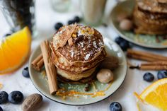 Spiced Pancakes - Grain Free, Nut Free and Dairy Free
