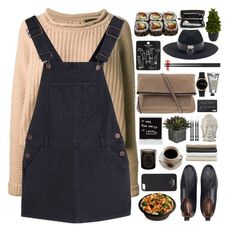 """HOME (IM BACK!!)"" by blondewithniall ❤ liked on Polyvore featuring Jo No Fui, UNIF, Kate Spade, Nearly Natural, Topshop, Parfois, Dreyfuss & Co, L'Occitane, Diptyque and Abyss & Habidecor"