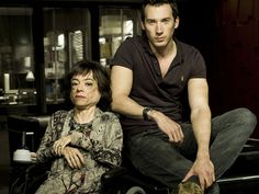 Clarissa Mullery (played by Liz Carr) with Lyell Centre colleague Jack Hodgson (David Caves) Silent Witness Cast, David Caves, Detective, Bbc Drama, Disabled People, Bbc Tv, Pretty Men, British Actors, Dr Who