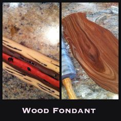 Woodgrain Marbling Effect