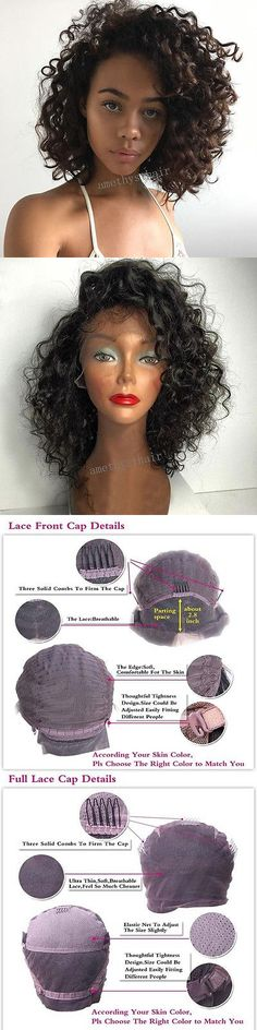 Wig and Extension Supplies: Loose Wave Human Hair Lace Front Wigs Brazilian Hair Short Wigs For Black Women -> BUY IT NOW ONLY: $116.28 on eBay!