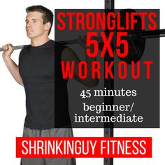 It's a deceptively simple yet effective strength workout that takes only 45 minutes, three times a week. Yet it guarantees total body strength improvement if you follow it precisely and use good form. In this post, I'll summarize the workout and my experience with it, and point you in the right direction to look into it yourself.