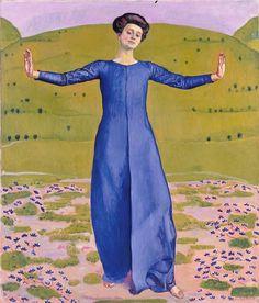 Ferdinand Hodler  Lied aus der Ferne 1906