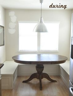 Built-in Banquette, Part One