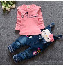 Walmart Black Friday 2016 2016 spring child...    http://e-baby-z.myshopify.com/products/2016-spring-children-denim-overalls-jeans-pants-t-shirt-clothing-set-baby-girls-leisure-cartoon-clothes-suit-kids-clothes-set?utm_campaign=social_autopilot&utm_source=pin&utm_medium=pin