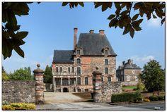 Château des Montgommery. Ducey. Basse-Normandie
