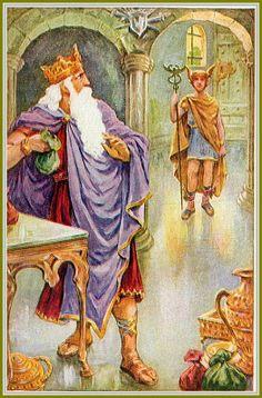 King Midas of the Golden Touch King Midas, Elizabethan Era, Through The Looking Glass, Bedtime Stories, Gods And Goddesses, Greek Mythology, I Fall In Love, Dark Art, Rey
