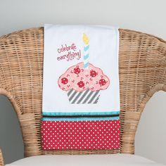 Birthday Celebration Tea Towel