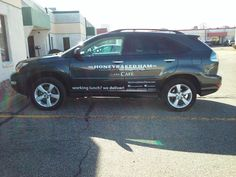 Even subtle vehicle graphics can make a big impact when you are out and about.