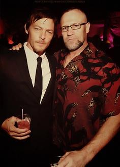 Norman Reedus & Michael Rooker, The Walking Dead.