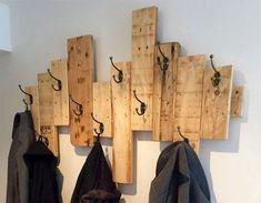 Un Porte-manteau DIY pour un intérieur original! 20 idées inspirantes…