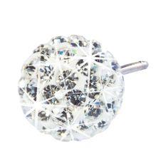 Blomdahl NT Crystal Ball 10mm White I